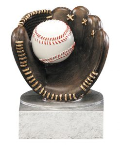 Baseball Resin Glove/Ball