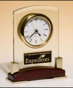 Beveled Glass Clock