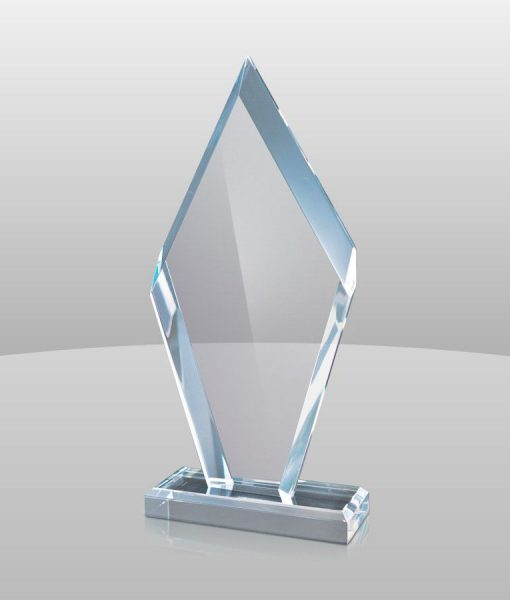 Blue Acrylic Arrowhead Award 1