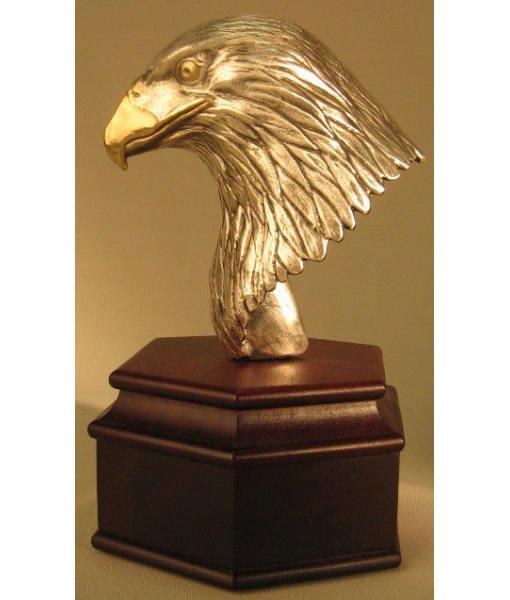 Eagle Head on Rosewood Base 1