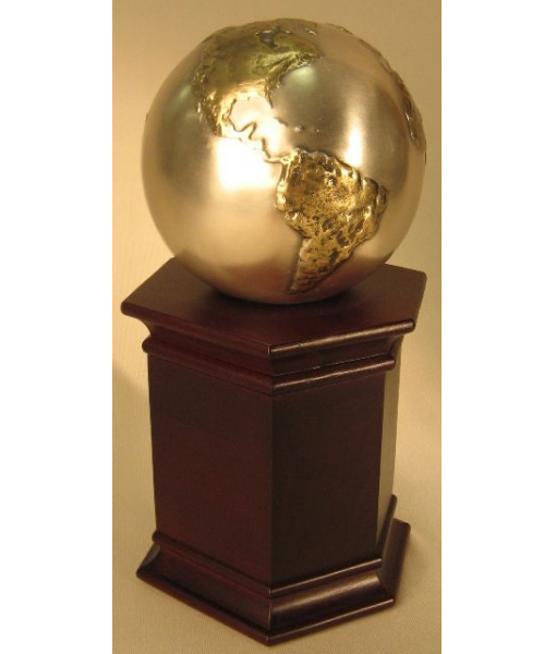 Cast Globe on Rosewood 1