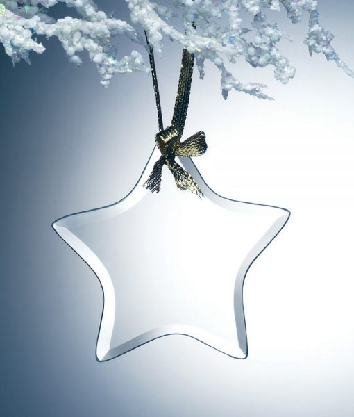 Glass Star Ornament 1