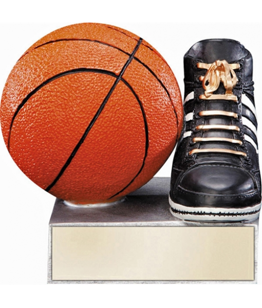 Basketball Resin Shoe/Ball 1