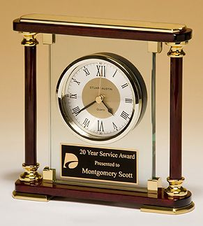 Rosewood_Glass_clock