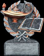 Knowledge Lamp/Book Resin 1