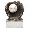 Baseball Resin Glove/Ball