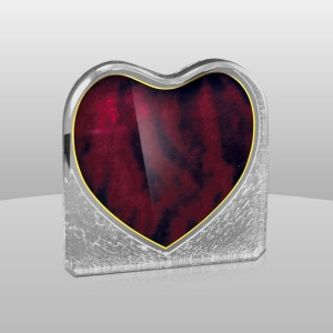Acrylic Red Heart