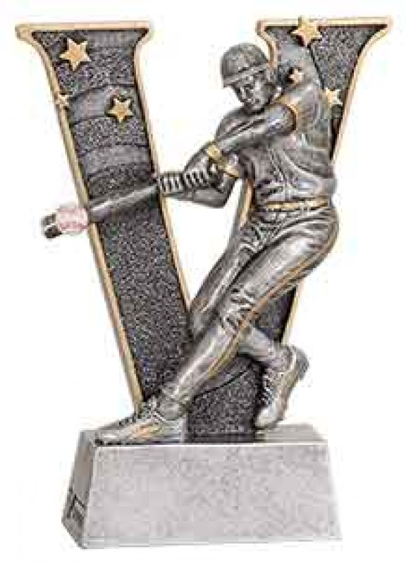 Baseball Player Trophy