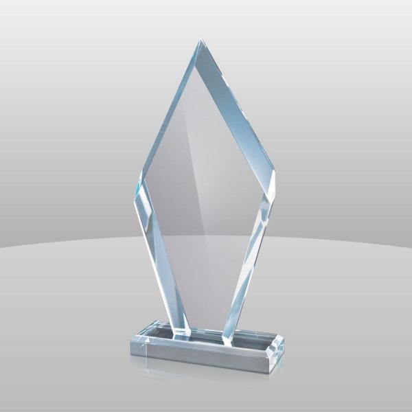 Blue Acrylic Arrowhead Award