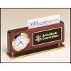 Business Card Holder Clock