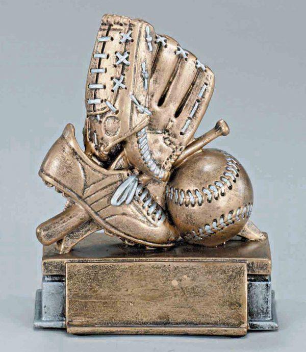 Resin Baseball Trophy