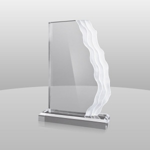 Side Wave Acrylic Award