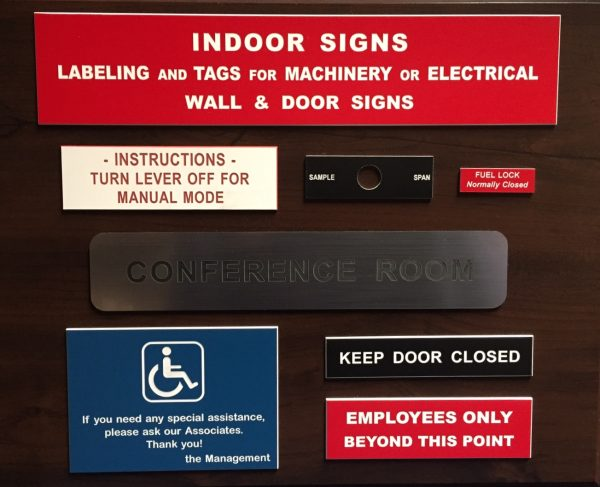 Custom Plastic Signs