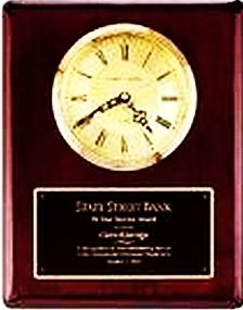 Plaque Clock