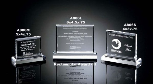 Rectangular Acrylic Awards